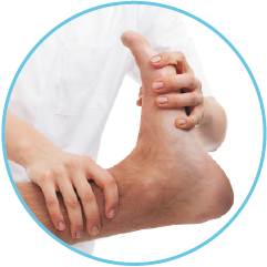 Routine chiropody treatment